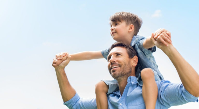 father and son fun - Home Physio Group