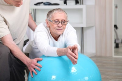 physiotherapy to help build up your strength after a long stay in hospital - Home Physio Group